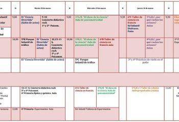 planificación Semana Cultural