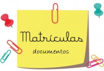 matricula documentos